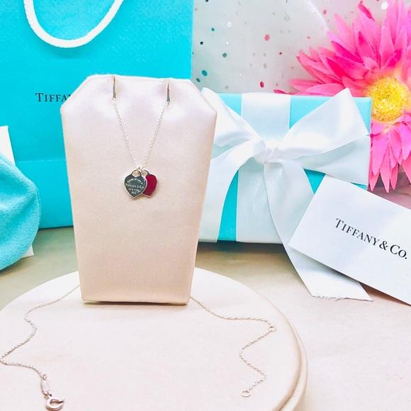 9b769ee39 Return to Tiffany Mini Double Heart Tag Pendant. M_5c84389a534ef96a6680d282